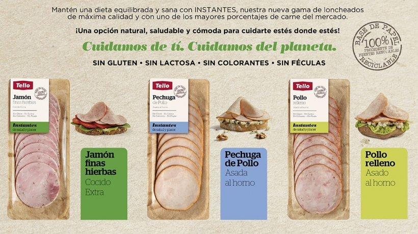Nueva gama de loncheados cocidosde Grupo Tello