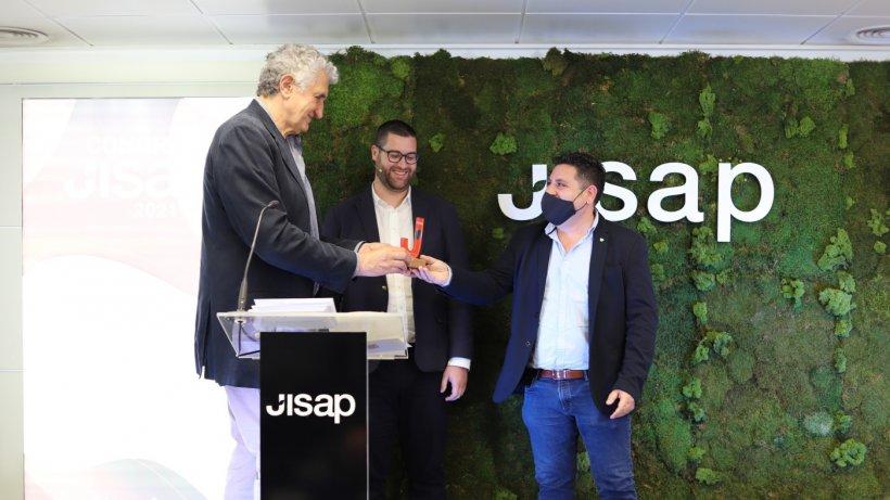 Romay participa en la entrega de Premios Jisap