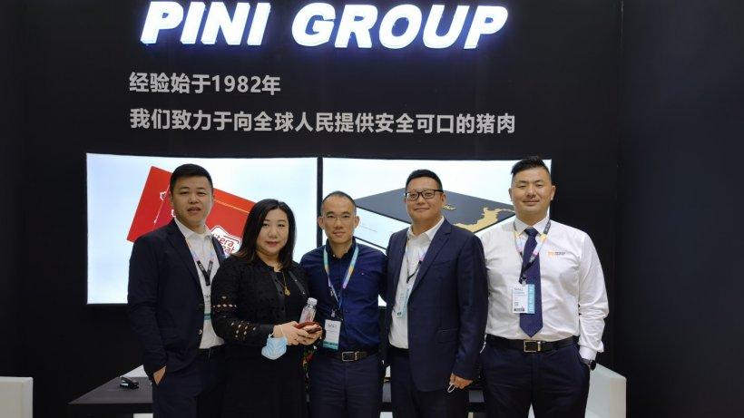 Equipo comercial de la empresa con sede en el país asiático