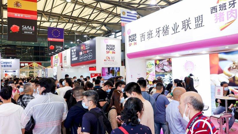 INTERPORC en la 22 Exposición Internacional de Alimentos y Bebidas SIAL China