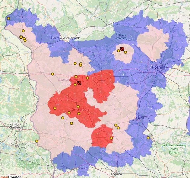 PPA en el voivodato de Gran Polonia