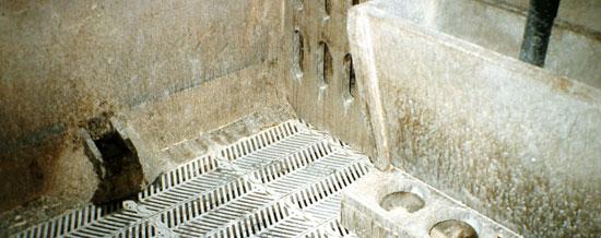 Las cazoletas están habitualmente contaminadas por heces.