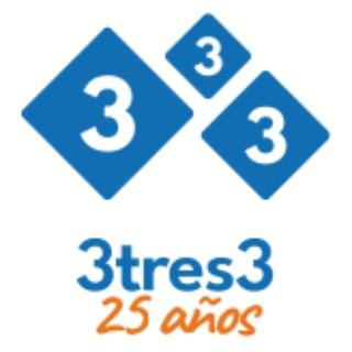 3tres3