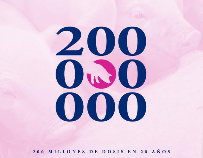 200 millones de dosis en 20 años