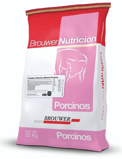 Complejo vitaminico mineral porcinos