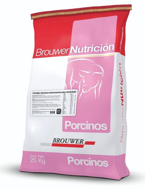 Complejo vitaminico mineral porcinos plus concentrado