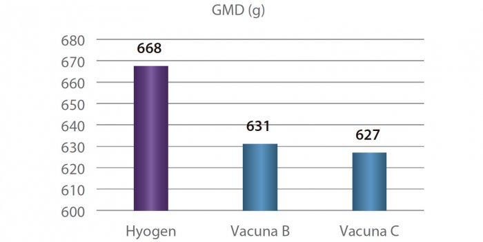 Figura 1. GMD por grupo