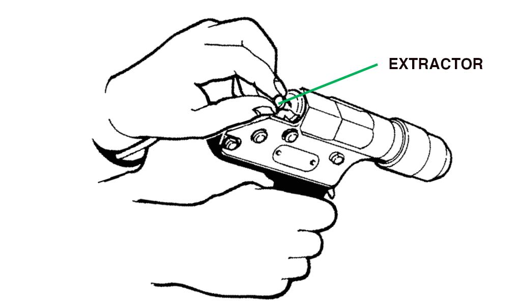 EXTRACÇÃO - Pistola de atordoamento Cash