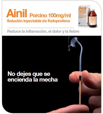Ainil, Solución inyectable de Ketoprofeno