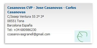 Casanovas CVP
